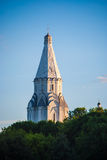 Ascension church in Kolomenskoye in Moscow Stock Photo