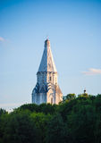 Ascension church in Kolomenskoye in Moscow Stock Images