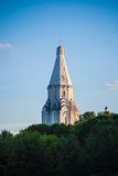 Ascension church in Kolomenskoye in Moscow Royalty Free Stock Photo