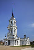Ascension Church (Resurrection) in Kalyazin Russia Stock Image