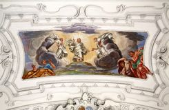 Ascension du Christ image libre de droits