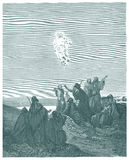 The Ascension of Jesus Stock Photography