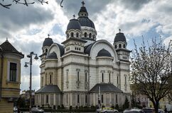Ascension of the Lord, Orthodox Cathedral at central square  in  Targu Mures.