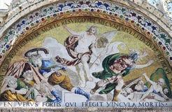 Ascensione del Gesù Cristo fotografie stock libere da diritti