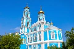 Ascensione della chiesa di Cristo immagini stock libere da diritti