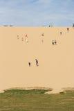 Ascensione della duna fotografia stock