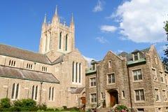 Ascensione della nostra chiesa del signore a Montreal fotografia stock