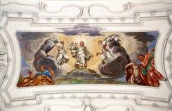 Ascensione di Christ fotografie stock libere da diritti