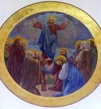 Ascensione di Cristo immagini stock libere da diritti