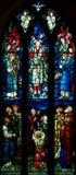 Ascensione di Jesus Christ (vetro macchiato) fotografie stock