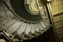 Ascensione a spirale fotografie stock libere da diritti