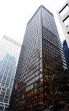 Ascensão elevada de Manhattan Fotografia de Stock