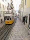 Ascensor da Bica, Лиссабон Стоковое Изображение