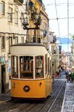 Ascensor DA Bica, Lisbonne photographie stock libre de droits