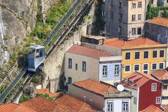 Ascensore di Oporto Fotografia Stock