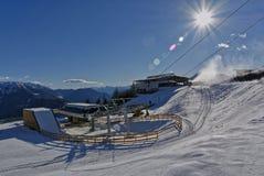 Ascensori in Adige superiore e nelle zone circostanti fotografia stock