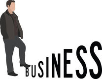 Ascent of business Stock Photography