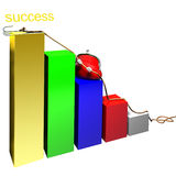 Ascent success Stock Photography