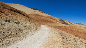 Ascent to Mount Teide Stock Photography