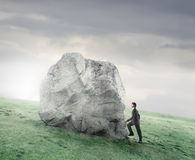 Ascent towards success Royalty Free Stock Photo