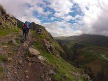 Ascesa di Elbrus Fotografie Stock