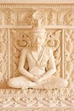Ascetic statue in Thai style molding art Stock Photography