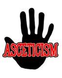 Ascetismo di Handprint Fotografie Stock