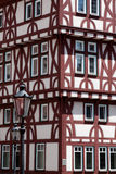 Aschaffenburg Fachwerk. An old Fachwerk (Half Timbered House) in the old town of Aschaffenburg Royalty Free Stock Images