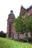 Aschaffenburg johannisburg. Castle in the old city of Aschaffenburg, Germany stock photo