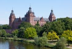 aschaffenburg johannisburgschloss Arkivbild