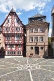 aschaffenburg stiftsplatz Obraz Royalty Free