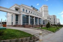 Aschgabat, Turkmenistan - circa im Juli 2013: Ansicht über das neue moder Stockfotografie