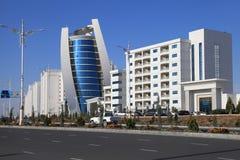 Aschgabat, Turkmenistan - 15. Oktober 2014: Moderne Architektur O Stockbilder