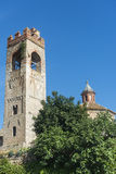 Asciano (Siena, Toscanië) Stock Afbeeldingen