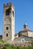 Asciano (Siena, Tuscany) Royalty Free Stock Image