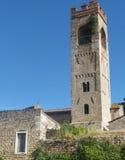 Asciano (Siena, Tuscany Stock Image