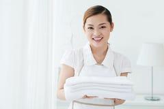 Asciugamani cambianti Fotografia Stock
