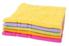 Asciugamani Colourful fotografia stock