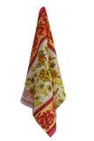 Asciugamani con il disegno Fotografia Stock Libera da Diritti