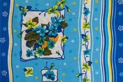 Asciugamani con il disegno Fotografia Stock