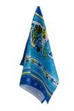 Asciugamani con il disegno Immagine Stock