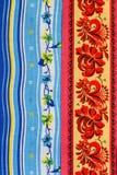 Asciugamani con il disegno Immagini Stock