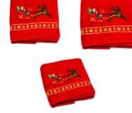Asciugamani del nuovo anno Fotografie Stock Libere da Diritti
