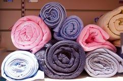 Asciugamani di bagno Fotografie Stock Libere da Diritti