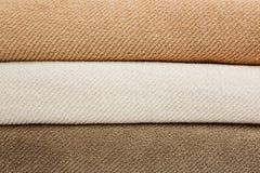 Asciugamani di bagno Fotografia Stock
