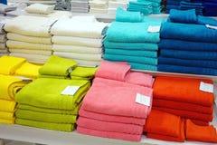 Asciugamani di bagno Immagine Stock