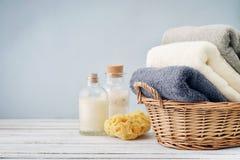 Asciugamani di bagno Immagine Stock Libera da Diritti