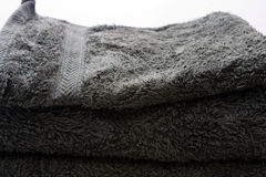 Asciugamani di bagno Fotografia Stock Libera da Diritti