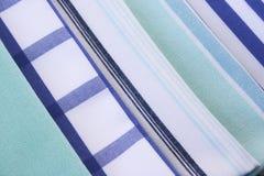 Asciugamani di cucina Fotografie Stock Libere da Diritti