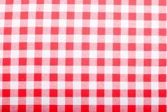 Asciugamani di cucina a quadretti del panno del fondo Fotografia Stock
